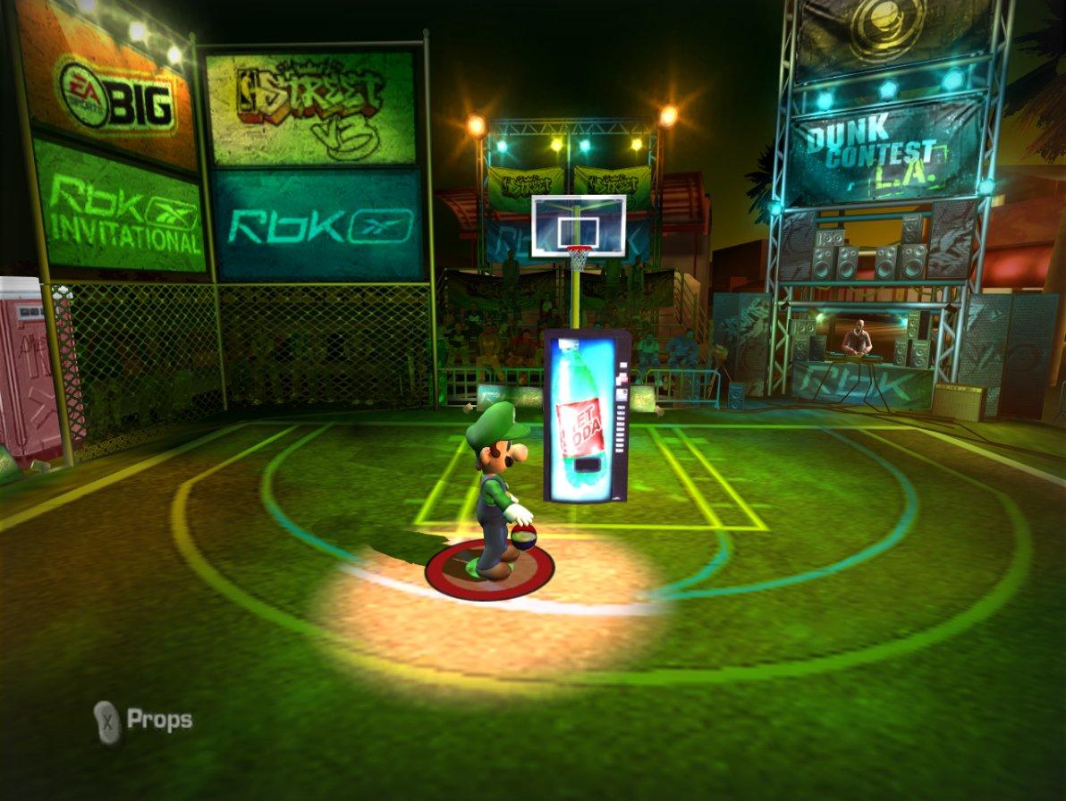 NBA Street V3 – The Video Game Soda Machine Project