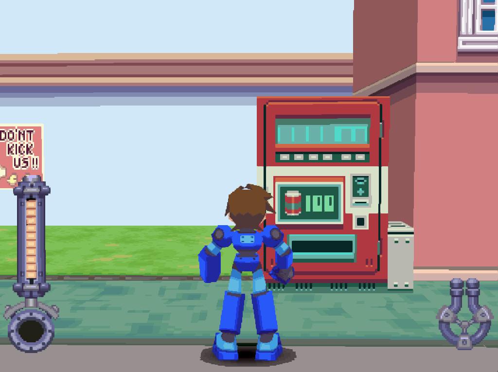 Rockman DASH (Beta) – The Video Game Soda Machine Project