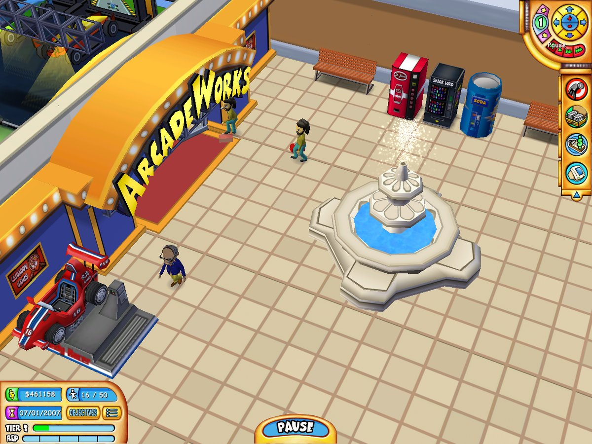 Mall Tycoon 3 The Video Game Soda Machine Project