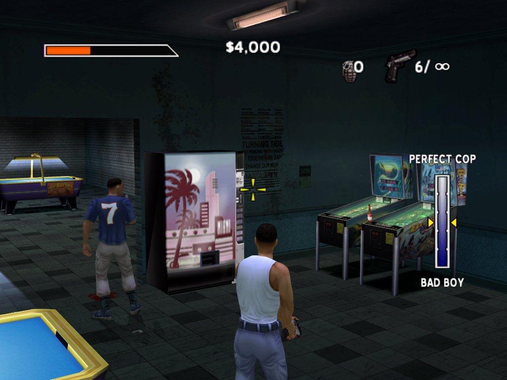Bad Boys Miami Takedown The Video Game Soda Machine Project