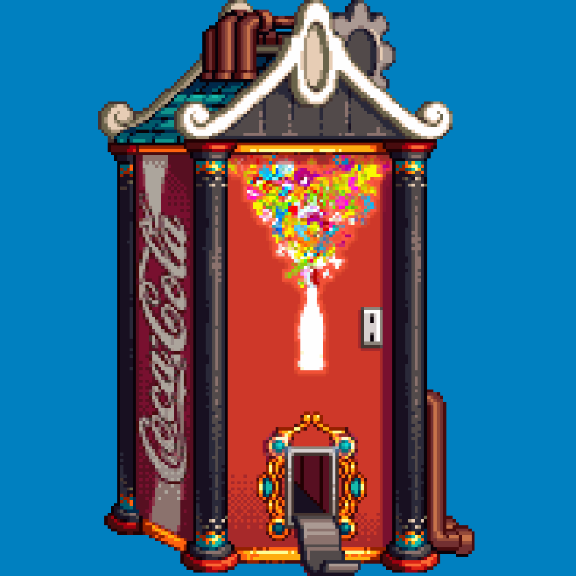 Dungeon Fighter Online – Coke Vending