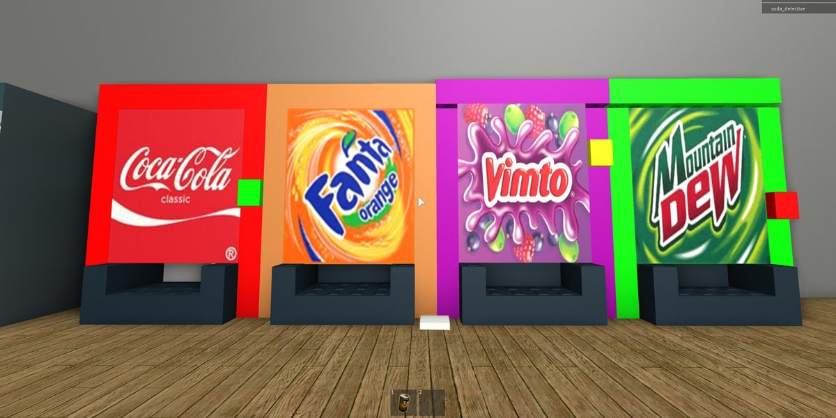 Roblox – The Video Game Soda Machine Project