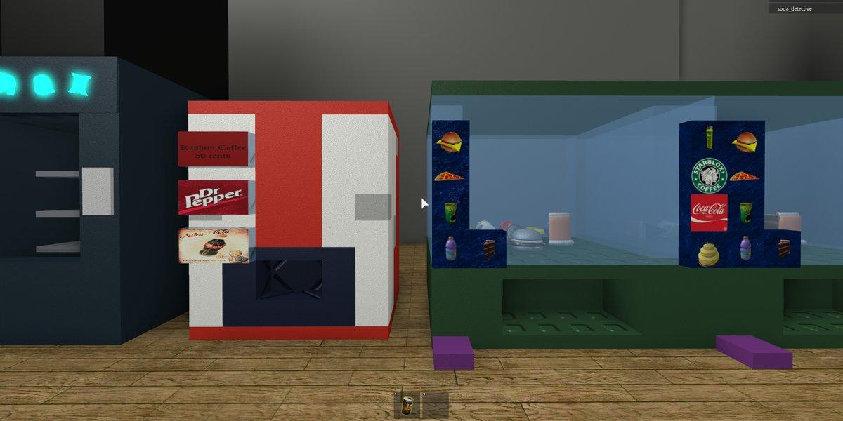 Roblox The Video Game Soda Machine Project