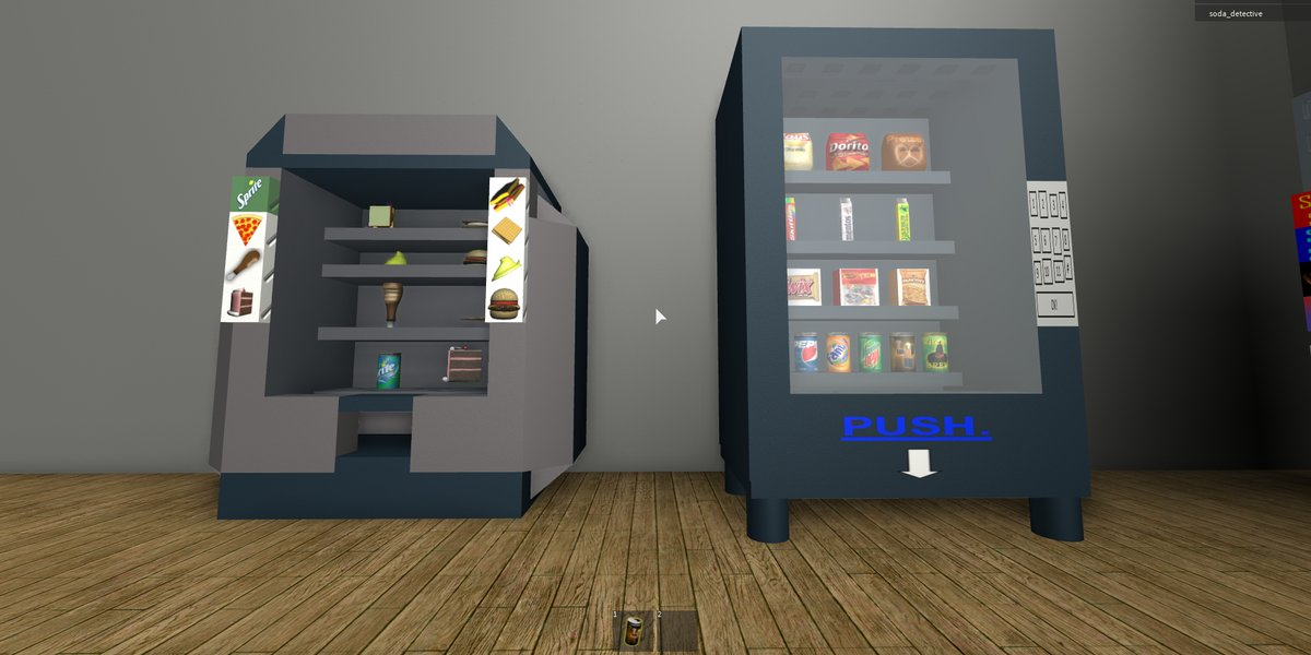 Roblox Ds Hangout Roblox Roblox The Video Game Soda Machine Project