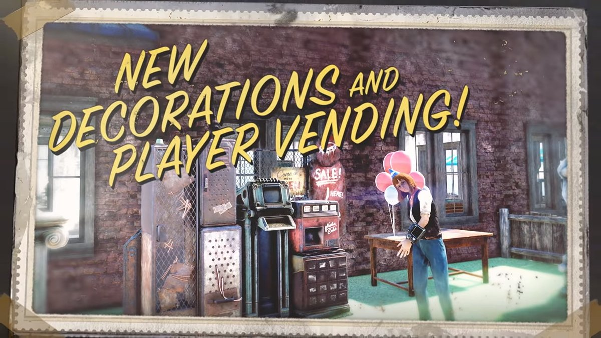 Fallout 76 Player Vending