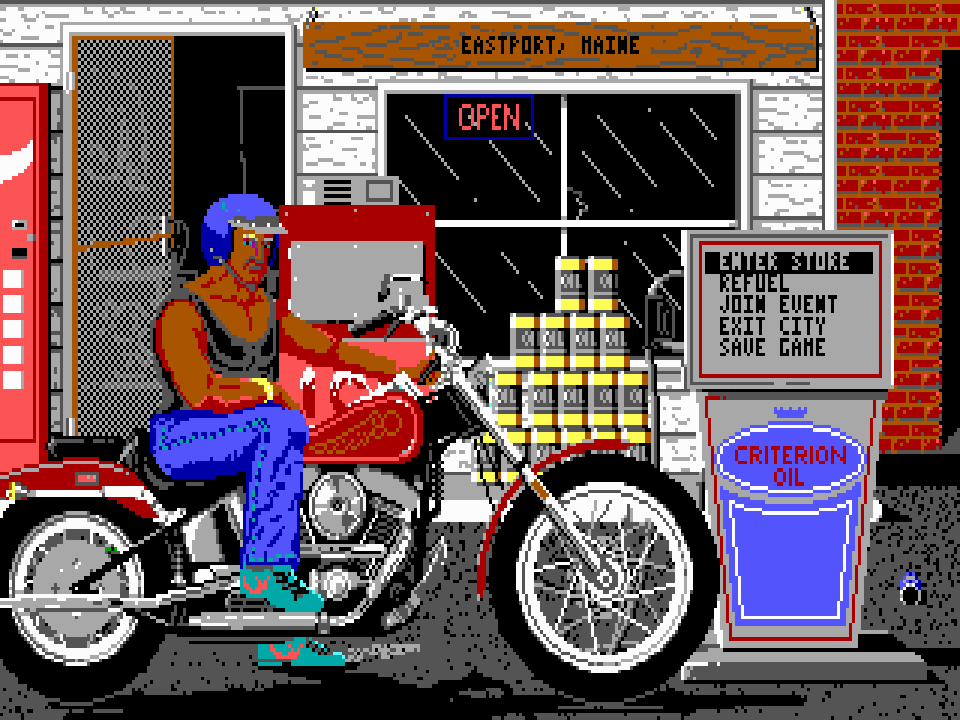 Harley-Davidson: The Road to Sturgis – The Video Game Soda Machine