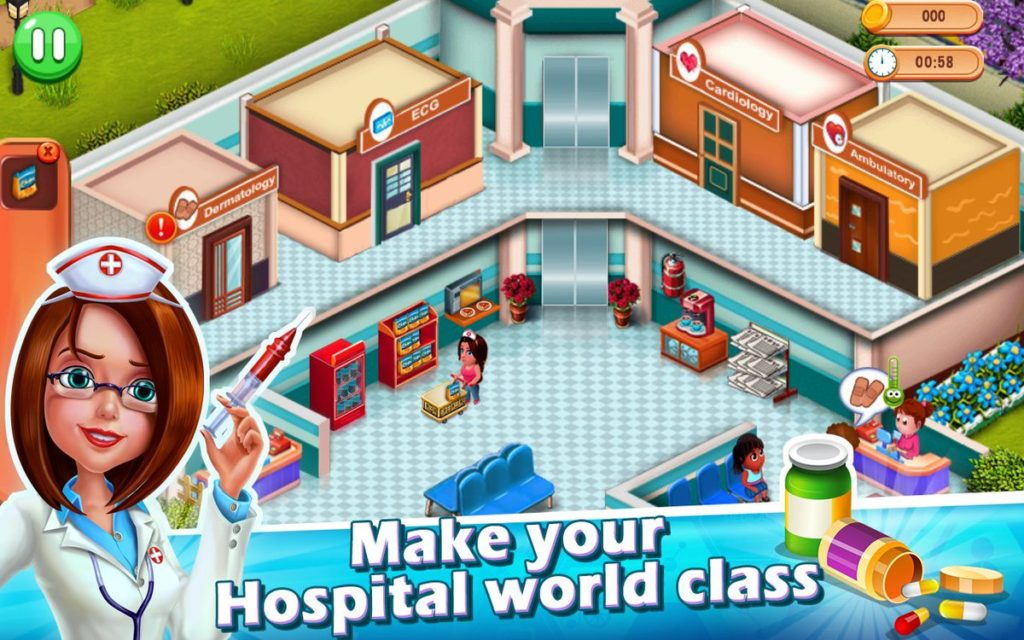 Doctor Madness: Hospital Surgery & Operation Game